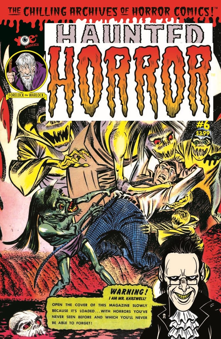 HauntedHorror_06-pr-1 ComicList Previews: HAUNTED HORROR VOLUME 6 NIGHTMARE OF DOOM AND MUCH MUCH MORE HC