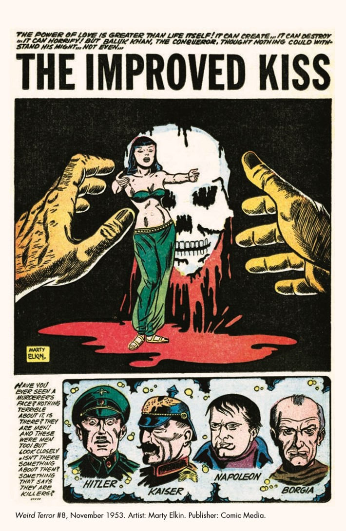 HauntedHorror_06-pr-3 ComicList Previews: HAUNTED HORROR VOLUME 6 NIGHTMARE OF DOOM AND MUCH MUCH MORE HC