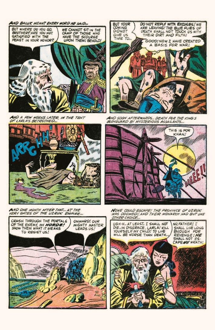 HauntedHorror_06-pr-8 ComicList Previews: HAUNTED HORROR VOLUME 6 NIGHTMARE OF DOOM AND MUCH MUCH MORE HC