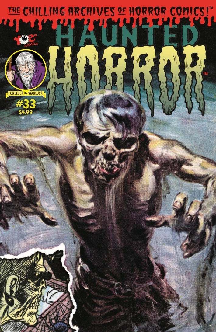 HauntedHorror_33-pr-1 ComicList Previews: HAUNTED HORROR #33