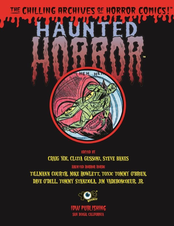 Haunted_Horror_Volume07-PR-2 ComicList Previews: HAUNTED HORROR VOLUME 7 CRY FROM THE COFFIN HC