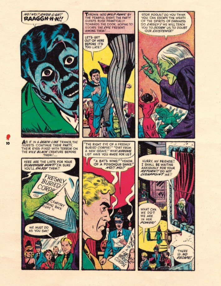Haunted_Horror_Volume07-PR-7 ComicList Previews: HAUNTED HORROR VOLUME 7 CRY FROM THE COFFIN HC