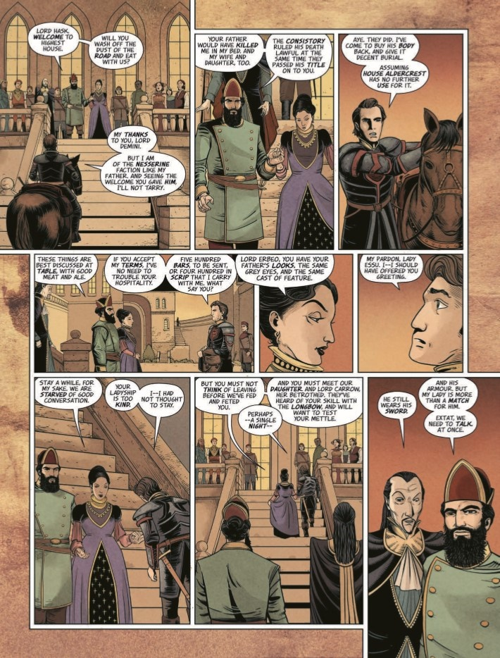 Highest_House_05-pr-6 ComicList Previews: THE HIGHEST HOUSE #5