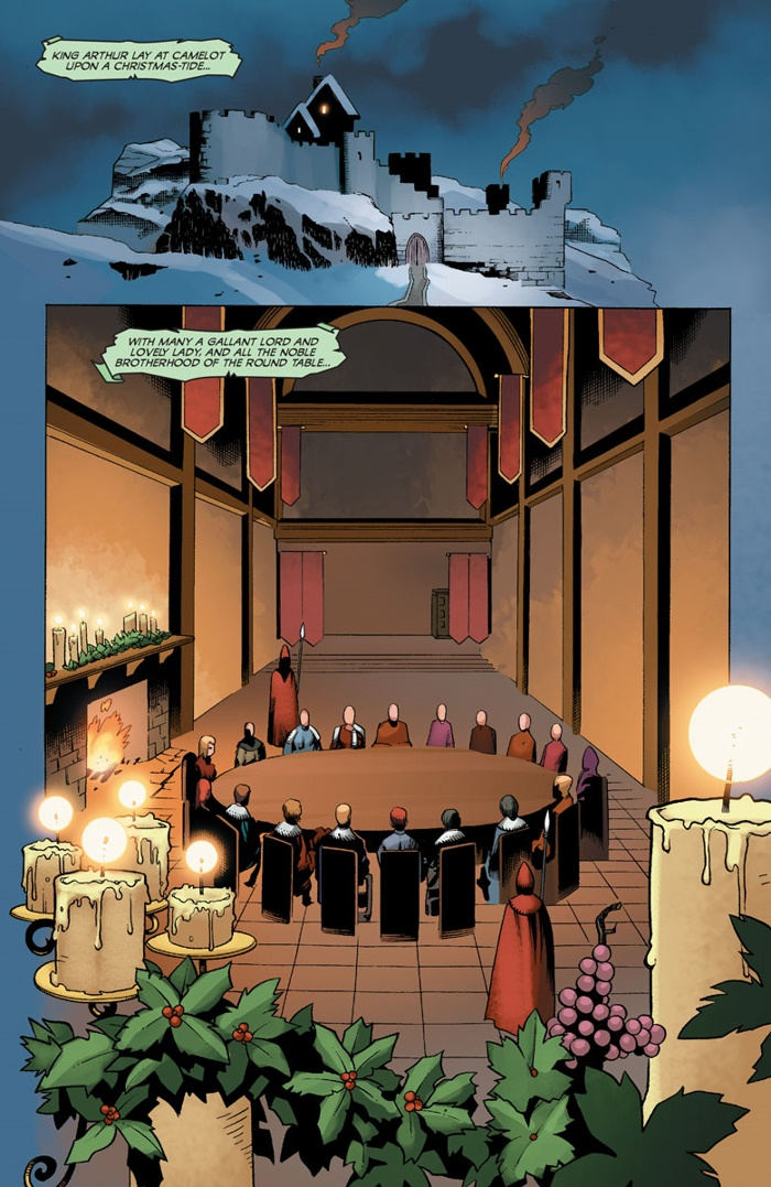 IMMORTAL_001_002 ComicList Preview: IMMORTAL BROTHERS THE TALE OF THE GREEN KNIGHT #1