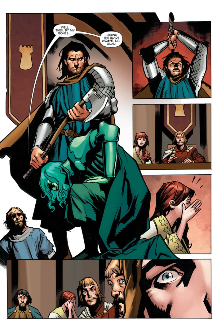 IMMORTAL_001_006 ComicList Preview: IMMORTAL BROTHERS THE TALE OF THE GREEN KNIGHT #1