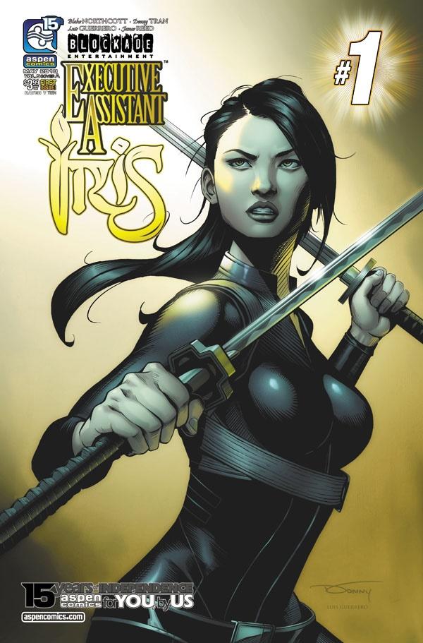 IRV5-01a-Tran ComicList Previews: EXECUTIVE ASSISTANT IRIS VOLUME 5 #1
