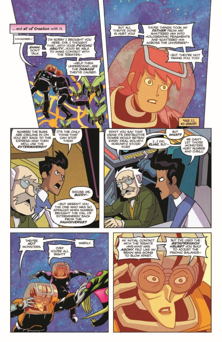 Impossible_Inc_04-pr-7 ComicList Previews: IMPOSSIBLE INCORPORATED #4