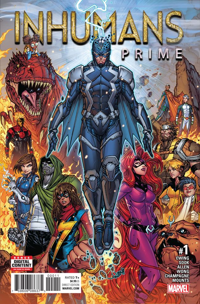 Inhumans_Prime_1_Cover ComicList Preview: INHUMANS PRIME #1