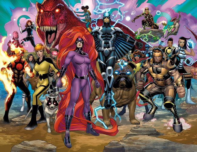 Inhumans_Prime_1_Preview_2 ComicList Preview: INHUMANS PRIME #1