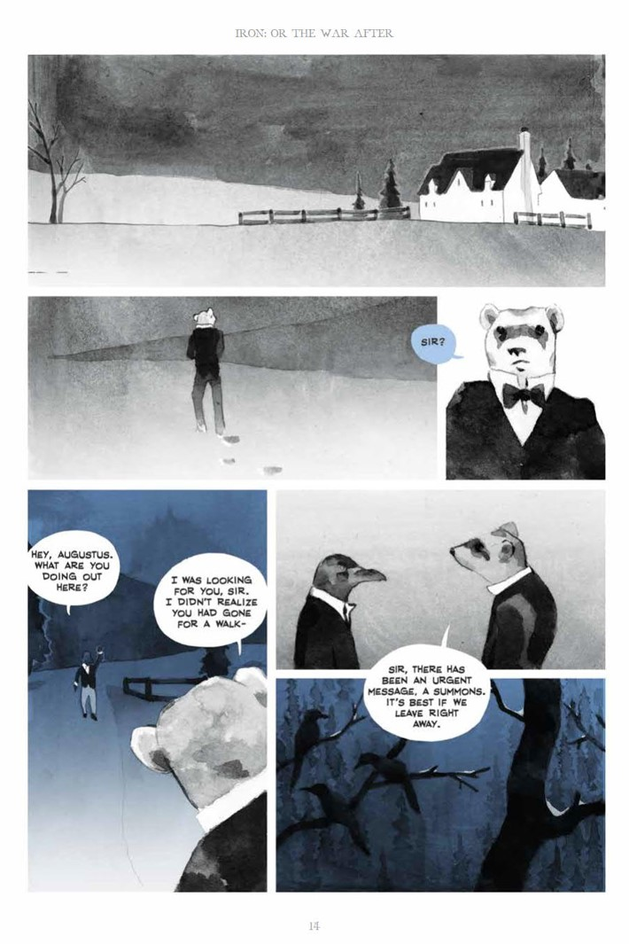 IronOrTheWarAfter_HC_PRESS_14 ComicList Previews: IRON OR THE WAR AFTER GN