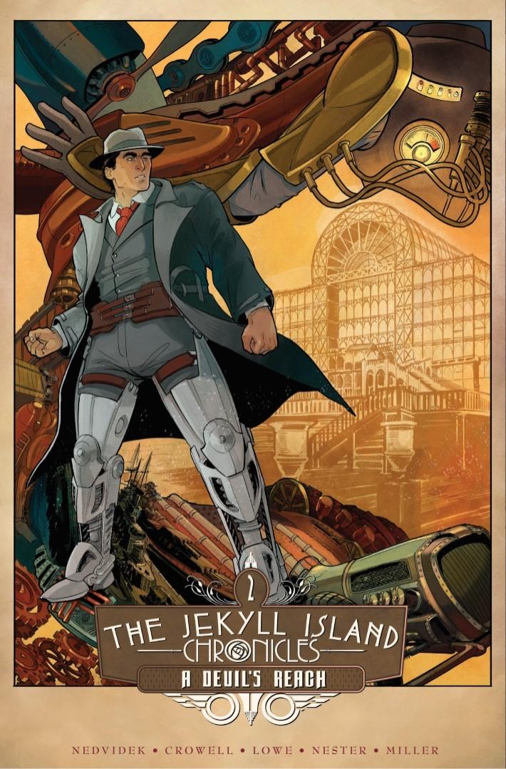 Jekyll_Island_Chronicles_vol2-pr-1 ComicList Previews: THE JEKYLL ISLAND CHRONICLES VOLUME 2 A DEVIL'S REACH GN