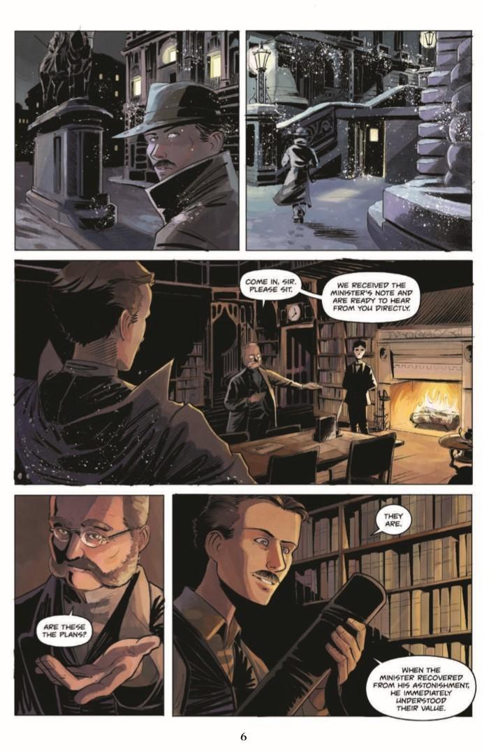 Jekyll_Island_Chronicles_vol2-pr-4 ComicList Previews: THE JEKYLL ISLAND CHRONICLES VOLUME 2 A DEVIL'S REACH GN
