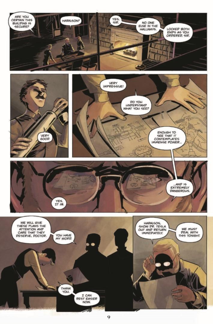 Jekyll_Island_Chronicles_vol2-pr-7 ComicList Previews: THE JEKYLL ISLAND CHRONICLES VOLUME 2 A DEVIL'S REACH GN