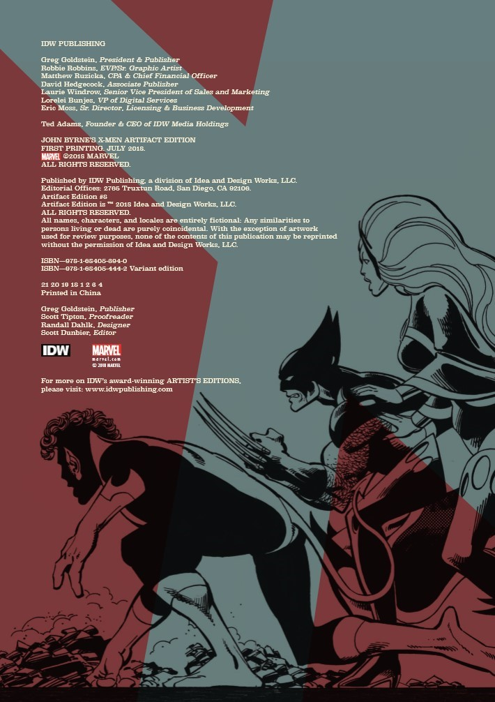 Jogn_Byrne_XMen_ArtifactEdition-pr-2 ComicList Previews: JOHN BYRNE'S X-MEN ARTIFACT EDITION HC