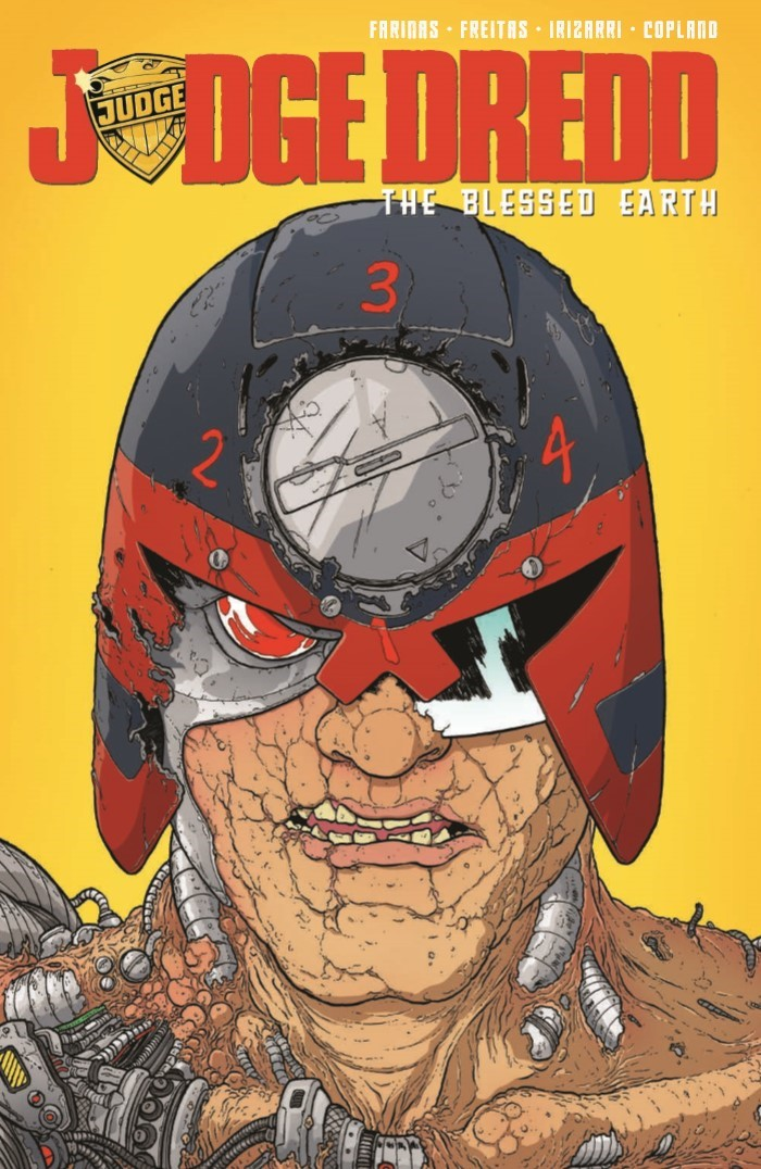 JudgeDredd_BlessedEarth_v2-pr-1 ComicList Previews: JUDGE DREDD THE BLESSED EARTH VOLUME 2 TP