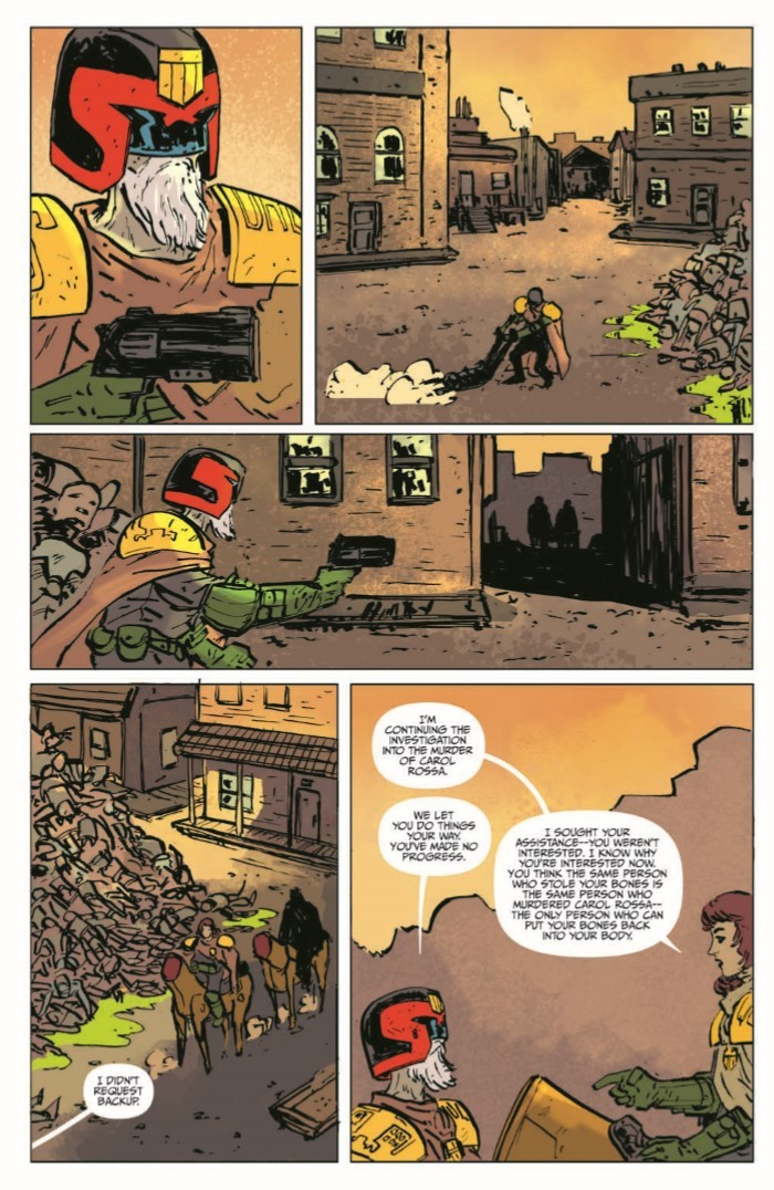 JudgeDredd_BlessedEarth_v2-pr-5 ComicList Previews: JUDGE DREDD THE BLESSED EARTH VOLUME 2 TP