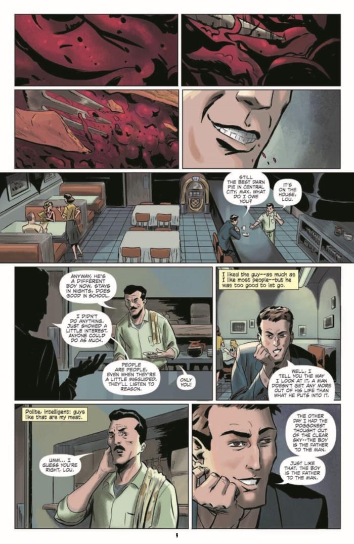 KillerInsideMe_TPB-pr-3 ComicList Preview: JIM THOMPSON'S THE KILLER INSIDE ME TP