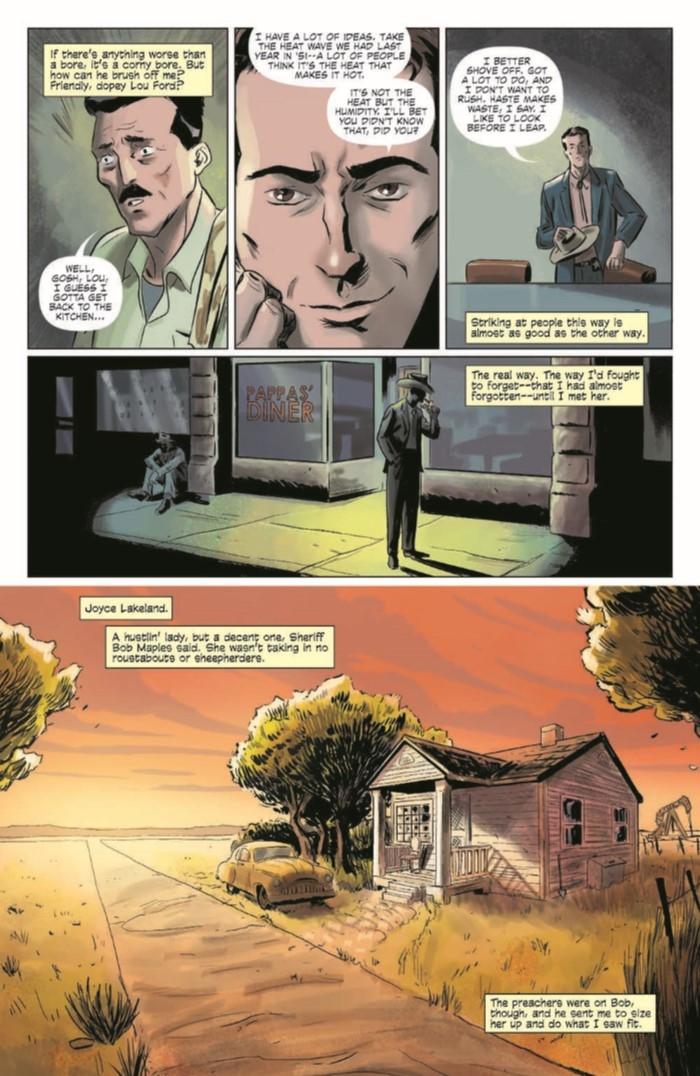 KillerInsideMe_TPB-pr-4 ComicList Preview: JIM THOMPSON'S THE KILLER INSIDE ME TP