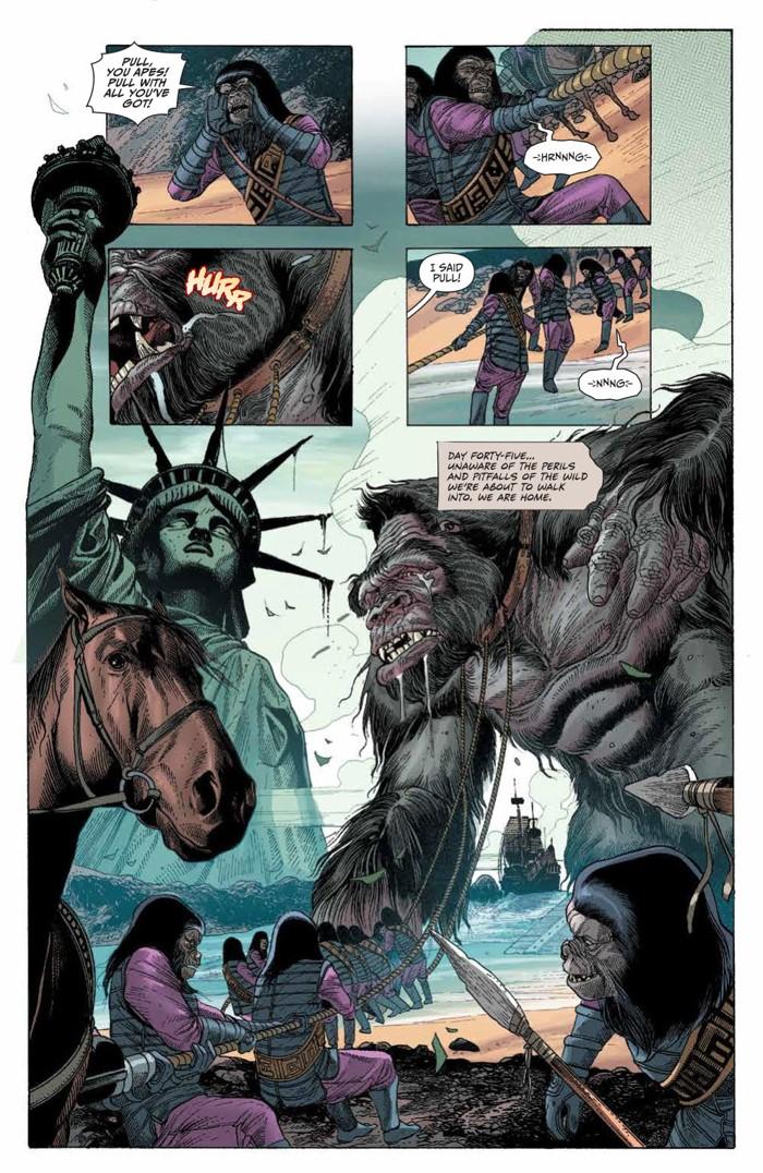 KongPOTA_004_PRESS_3 ComicList Previews: KONG ON THE PLANET OF THE APES #4