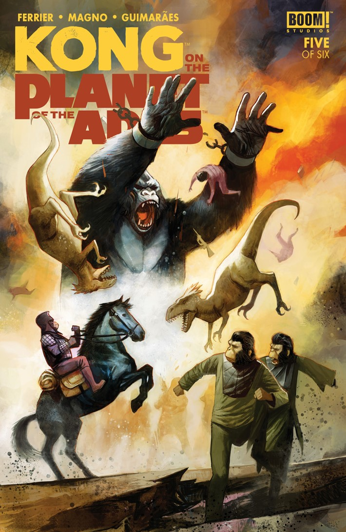 KongPOTA_005_A_Main ComicList Previews: KONG ON THE PLANET OF THE APES #5