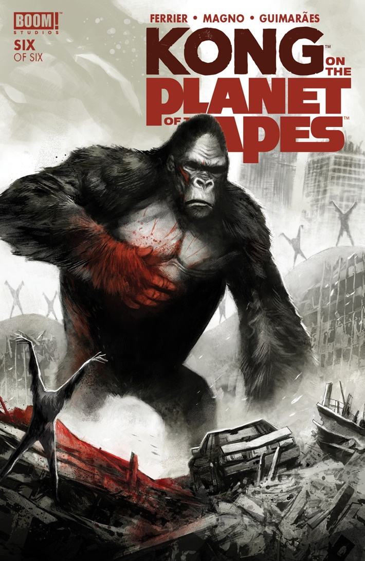 KongPOTA_006_A_Main ComicList Previews: KONG ON THE PLANET OF THE APES #6