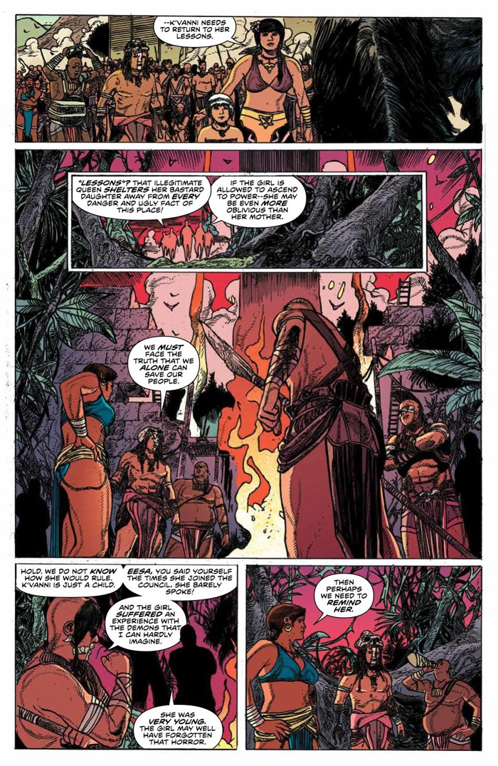 KongSkullIsland_v3_PRESS_10 ComicList Previews: KONG OF SKULL ISLAND VOLUME 3 TP