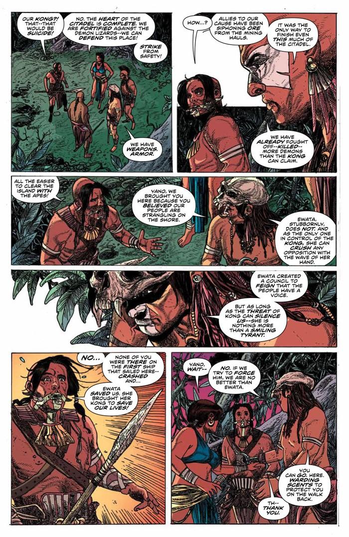 KongSkullIsland_v3_PRESS_12 ComicList Previews: KONG OF SKULL ISLAND VOLUME 3 TP