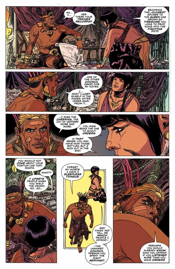 KongSkullIsland_v3_PRESS_15 ComicList Previews: KONG OF SKULL ISLAND VOLUME 3 TP