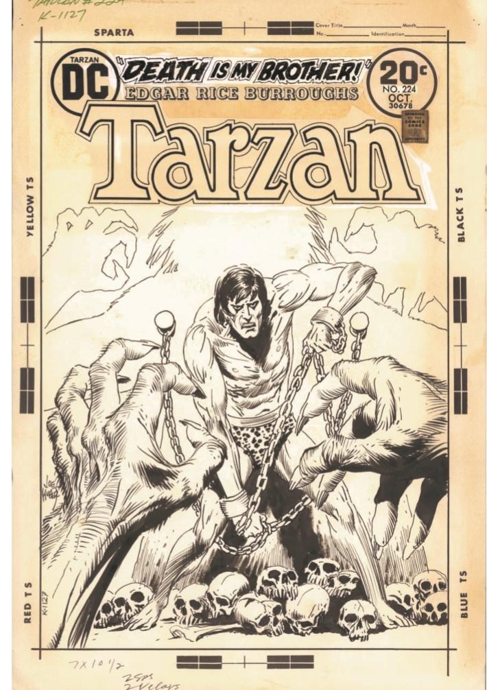 Kubert_Tarzan_LionMan_AE-pr-3 ComicList Previews: JOE KUBERT'S TARZAN AND THE LION MAN AND OTHER STORIES ARTIST'S EDITION HC