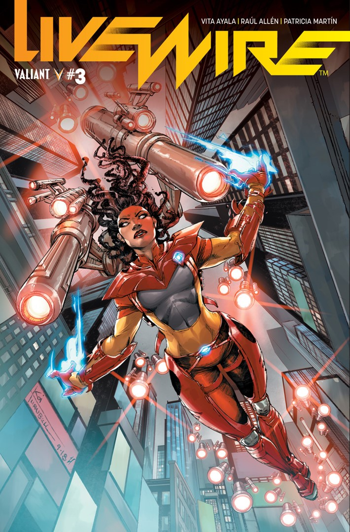 LW3_Cover-B ComicList Previews: LIVEWIRE #3