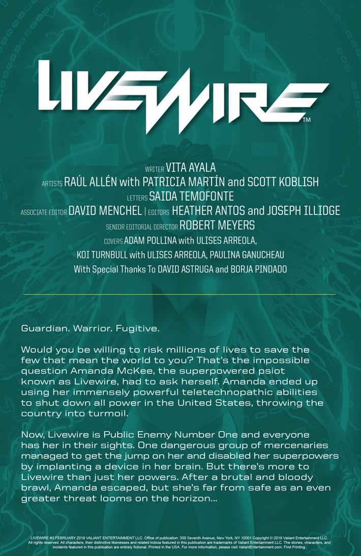 LW3_PREVIEW_1 ComicList Previews: LIVEWIRE #3