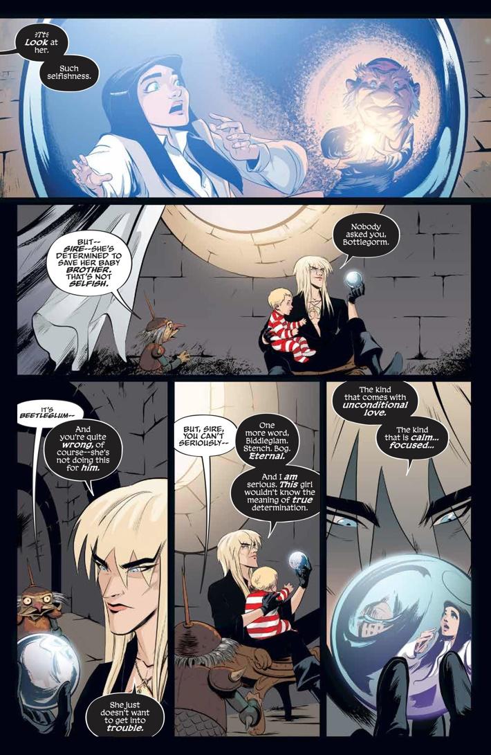 Labyrinth_Coronation_002_PRESS_3 ComicList Previews: JIM HENSON'S LABYRINTH CORONATION #2