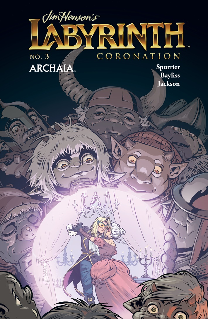 Labyrinth_Coronation_003_B_Subscription ComicList Previews: JIM HENSON'S LABYRINTH CORONATION #3