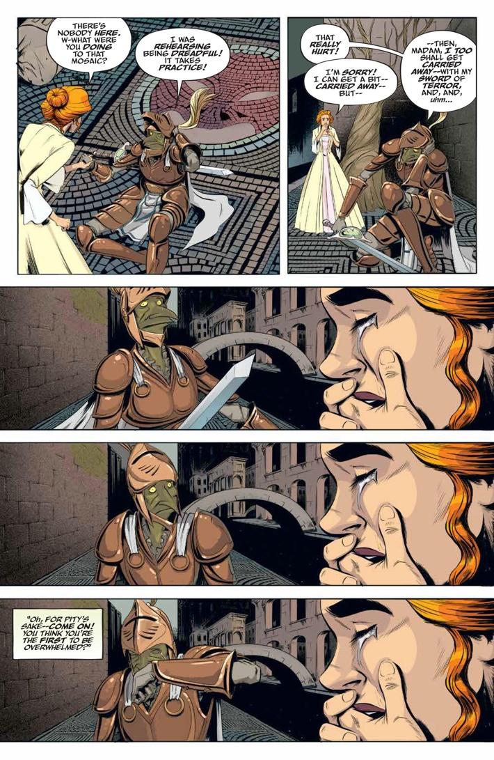 Labyrinth_Coronation_003_PRESS_5 ComicList Previews: JIM HENSON'S LABYRINTH CORONATION #3