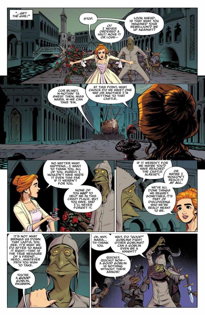 Labyrinth_Coronation_010_PRESS_5 ComicList Previews: JIM HENSON'S LABYRINTH CORONATION #10