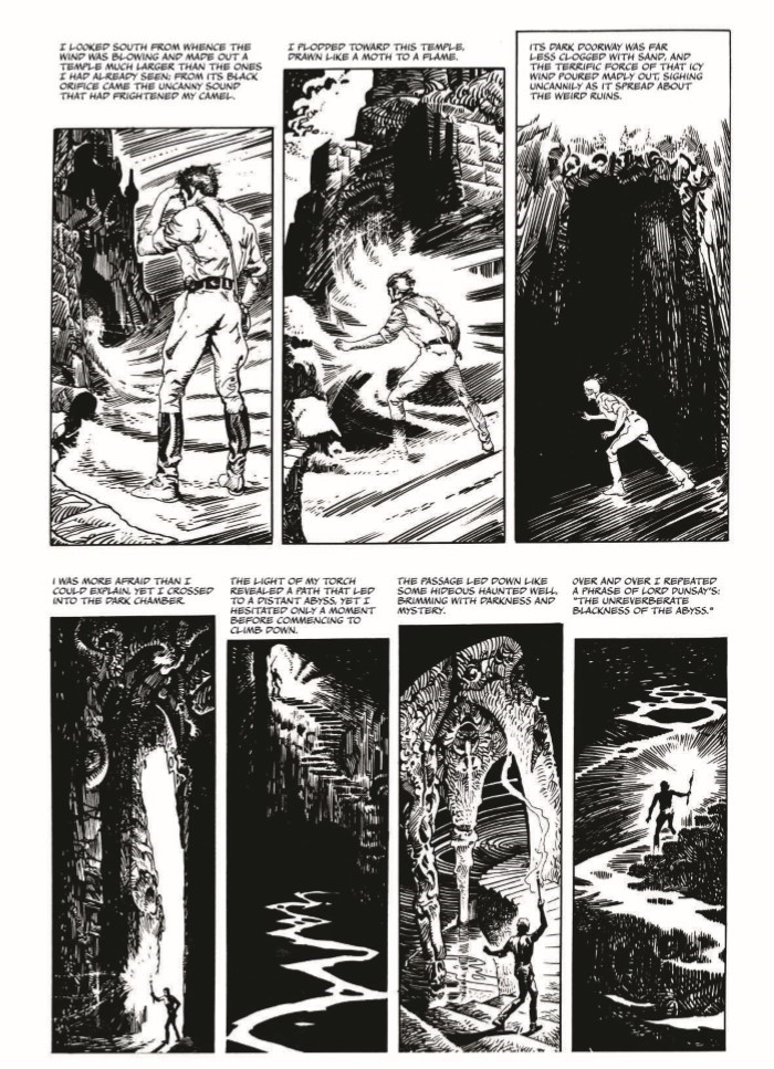 Lovecraft_MythOfCthulhu-pr-7 ComicList Previews: LOVECRAFT THE MYTH OF CTHULHU HC