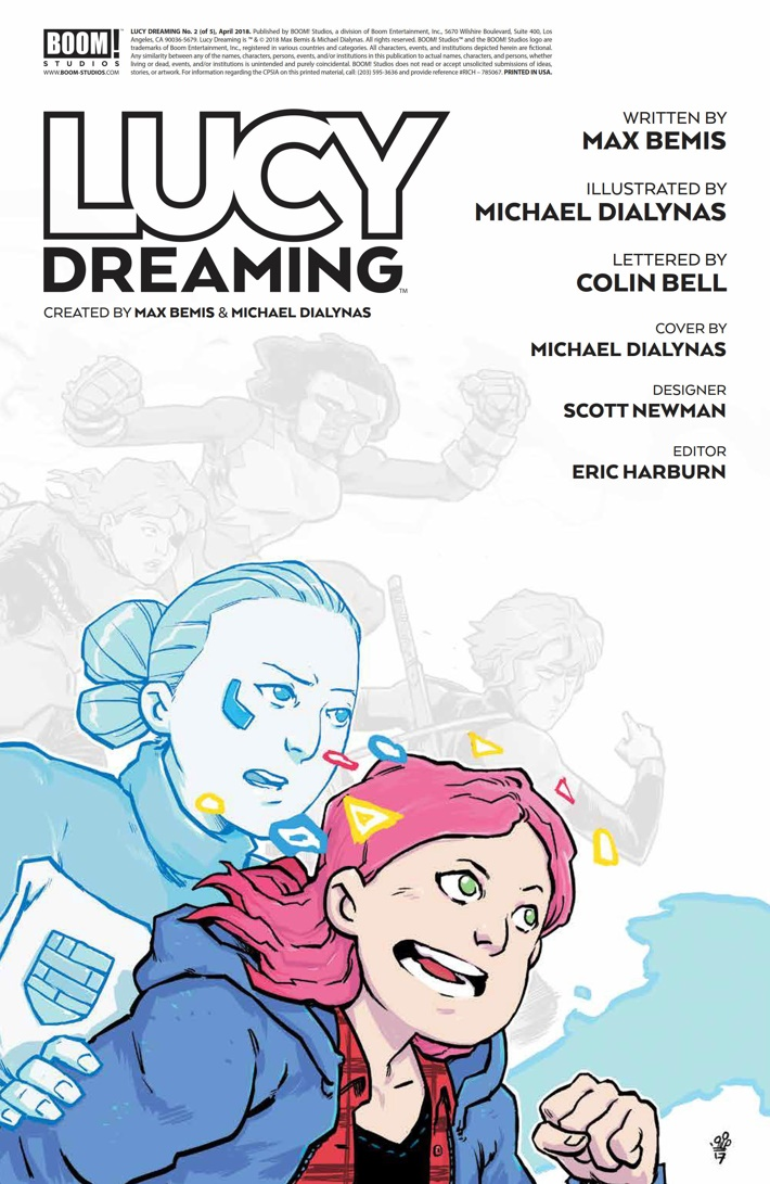 LucyDreaming_002_PRESS_2 ComicList Previews: LUCY DREAMING #2