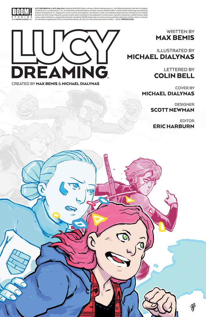LucyDreaming_003_PRESS_2 ComicList Previews: LUCY DREAMING #3