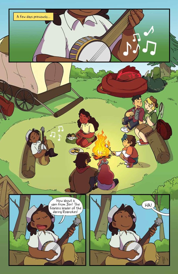 Lumberjanes_047_PRESS_3 ComicList Previews: LUMBERJANES #47