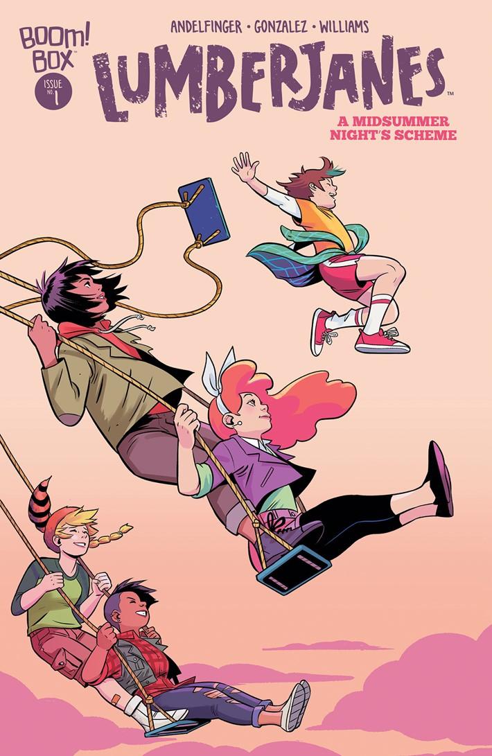 Lumberjanes_2018Special_A_Main ComicList Previews: LUMBERJANES A MIDSUMMER NIGHT'S SCHEME #1