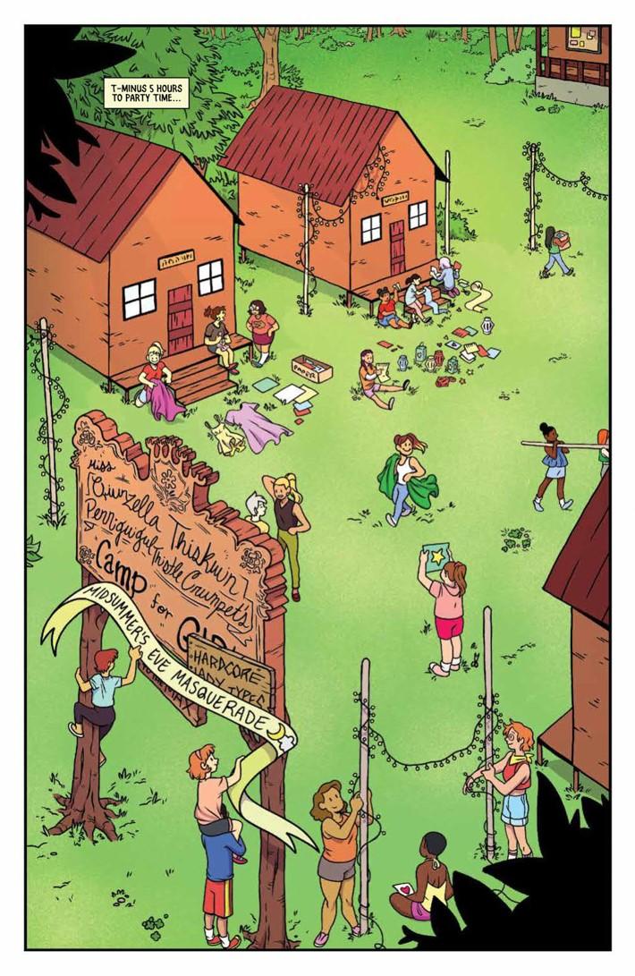Lumberjanes_2018Special_PRESS_3 ComicList Previews: LUMBERJANES A MIDSUMMER NIGHT'S SCHEME #1