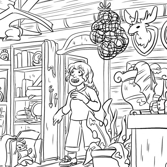 Lumberjanes_ColoringBook_Press_7 ComicList Previews: LUMBERJANES COLORING BOOK TP