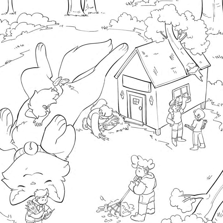 Lumberjanes_ColoringBook_Press_9 ComicList Previews: LUMBERJANES COLORING BOOK TP