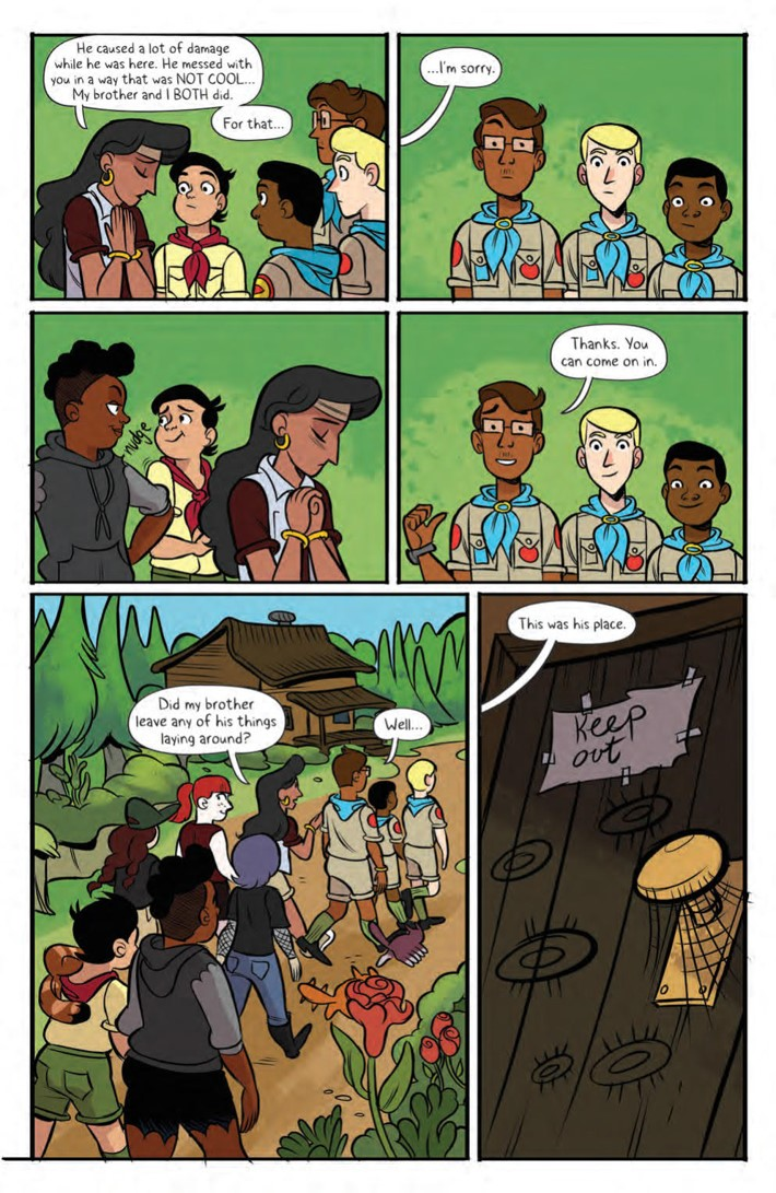 Lumberjanes_Max_HC_v5_PRESS_15 ComicList Previews: LUMBERJANES TO THE MAX EDITION VOLUME 5 HC