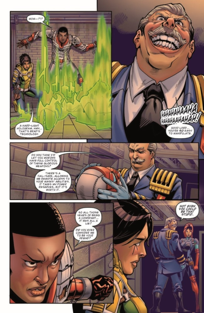 MASK_04-pr-6 ComicList Preview: M.A.S.K. MOBILE ARMORED STRIKE KOMMAND #4