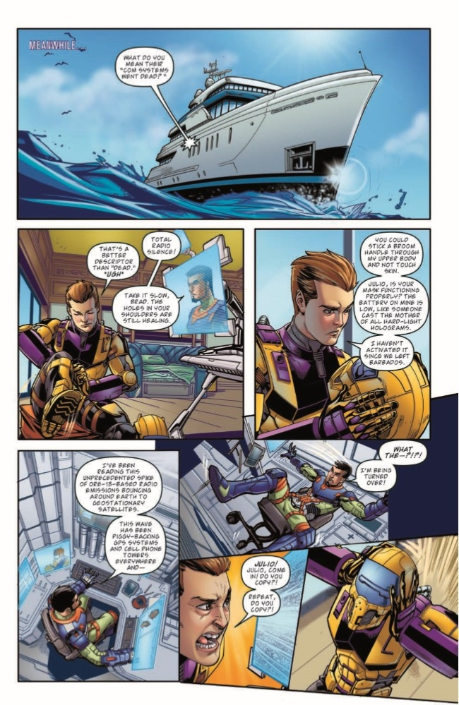 MASK_04-pr-7 ComicList Preview: M.A.S.K. MOBILE ARMORED STRIKE KOMMAND #4