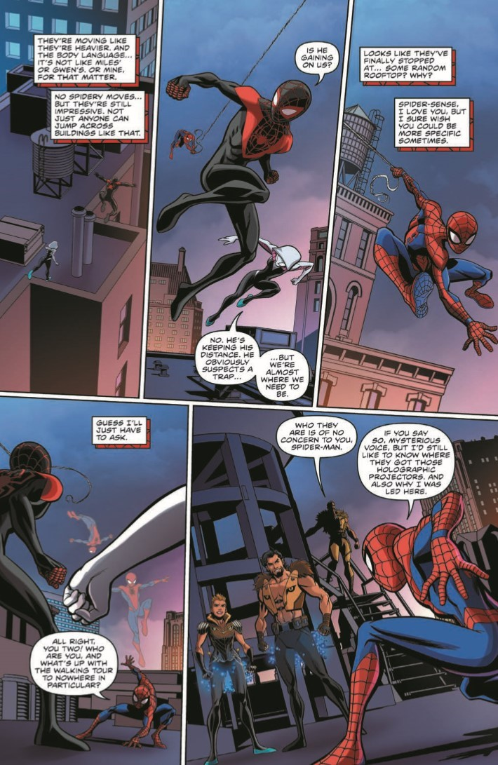 Comiclist Previews Marvel Action Spider Man 6