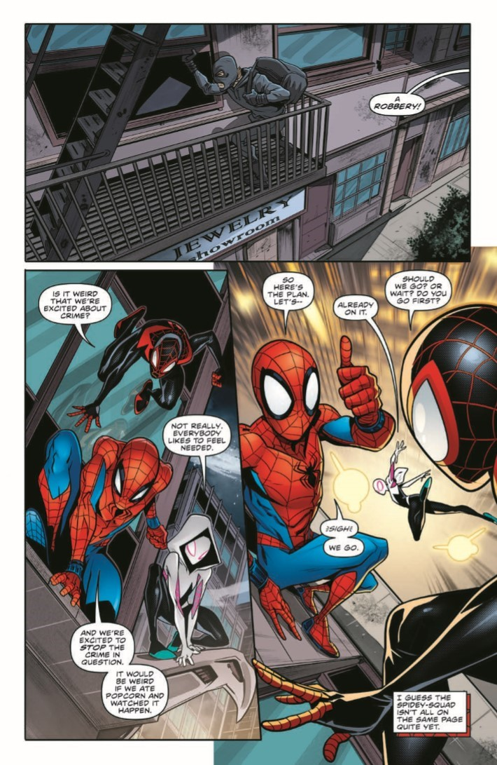 ComicList Previews MARVEL ACTION SPIDER MAN 7