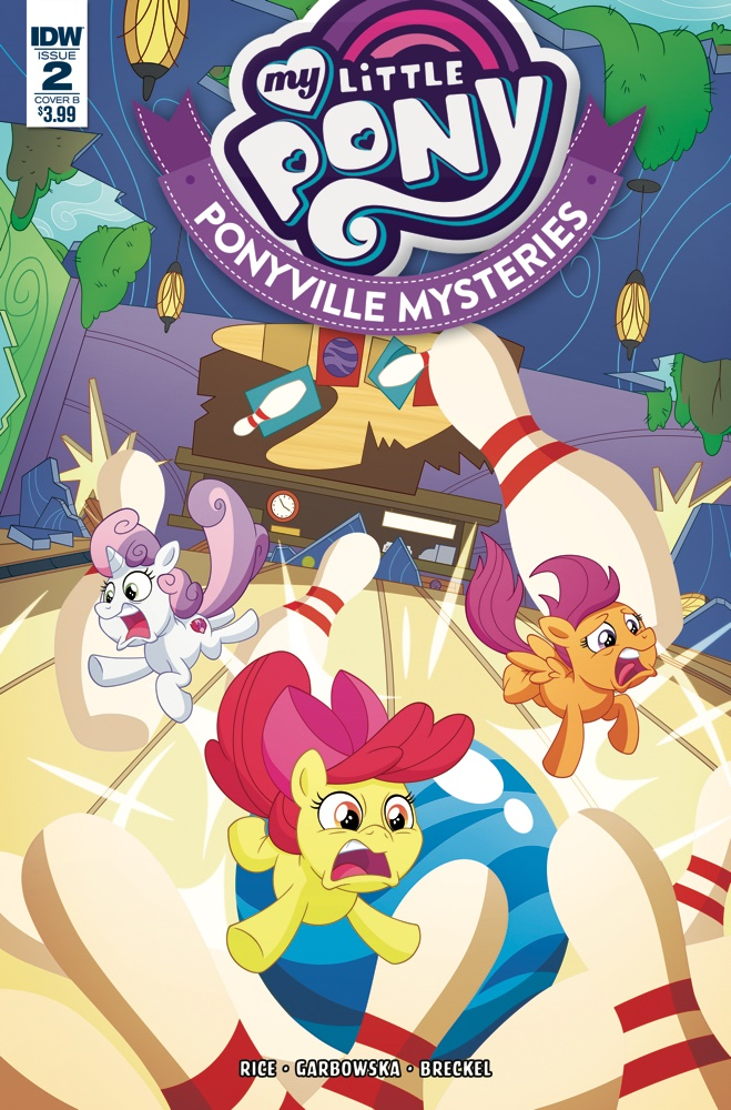 MLP_PVM02-coverB ComicList Previews: MY LITTLE PONY PONYVILLE MYSTERIES #2