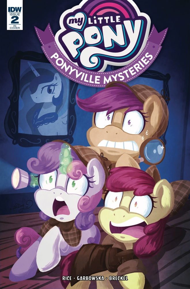 MLP_PVM02-coverRI ComicList Previews: MY LITTLE PONY PONYVILLE MYSTERIES #2